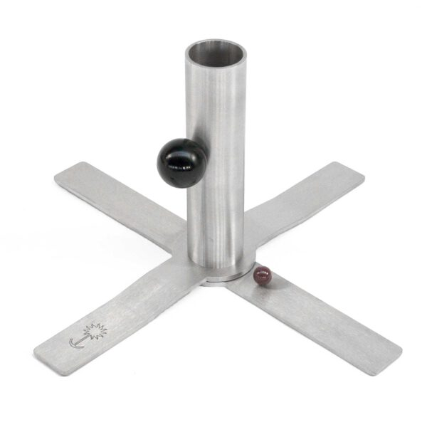 sonnenanker-anker-staender-sonnenschirm-schirmstaender-edelstahl-holzdeck-holzterrrasse-kreuz-diagonal